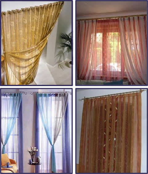 Tende e tendaggi tende e tendaggi sepe tende for Tende in organza